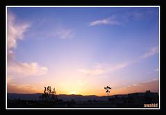 sunset at haripur