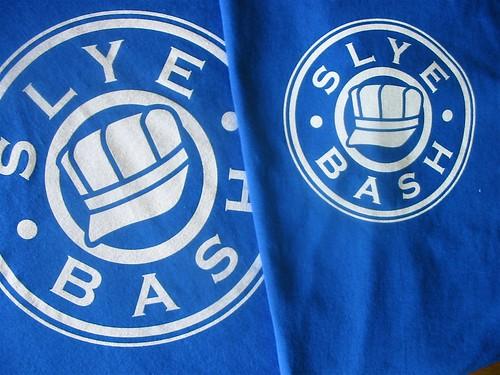 Slye Bash T-Shirt Design: 2 Sizes
