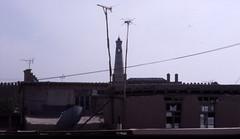 From the window of my hotel (Kryss118) Tags: window minaret uzbekistan khiva ichonqala