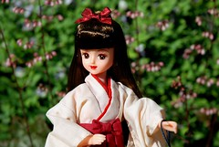 Highschool Licca. (Athanassia) Tags: japan doll graduation 1999 pop highschool hakama kimono takara licca