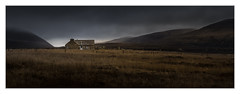 """""""Welcome to Scotland""""! (eos1969) Tags: scotland alba highlands islands orkney mountains glen hoy remote cottage croft stone farming winter rain clouds mood mystique heather"""