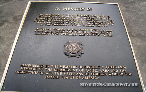 memorial stone sign