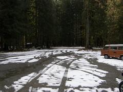 Parking area at Deer Creek road.