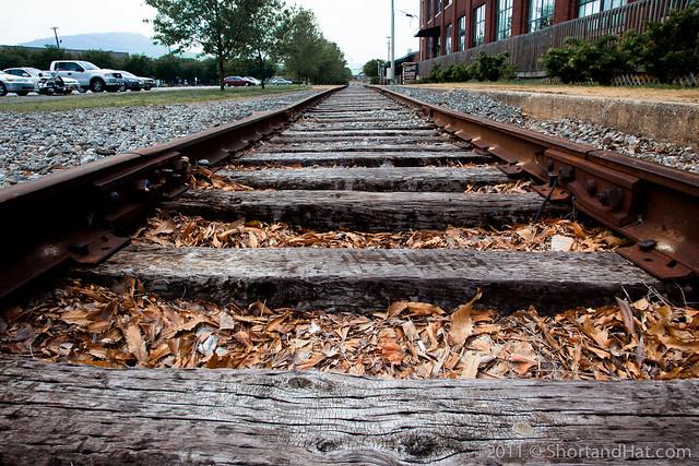 Choo-Choo tracks!