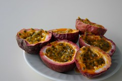 passion fruits we picked up at the market
