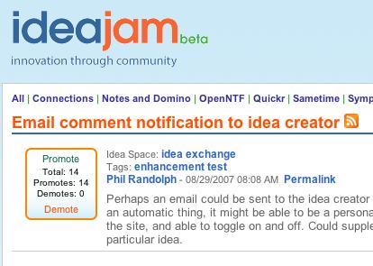 Idea Jam