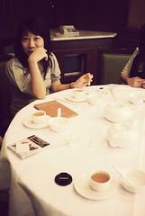 at Jovi's b-day (yum cha)