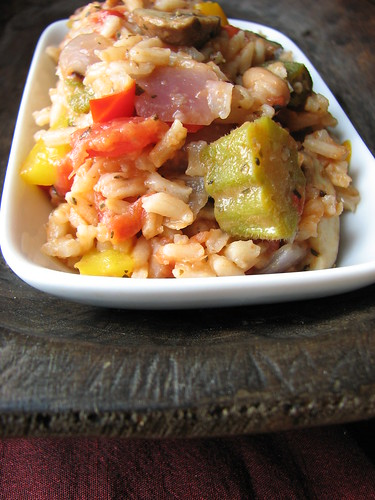 Vegetarian Jambalaya