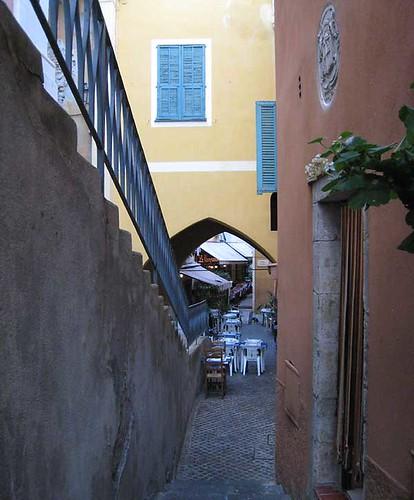 Alley in Villefranche sur Mer