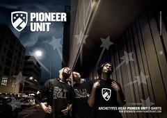 Pioneer Unit T-Shirt Promo [Sky]