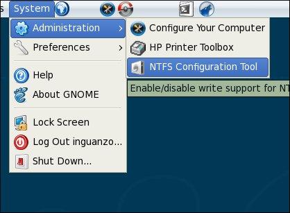 ntfs Configuration Tool