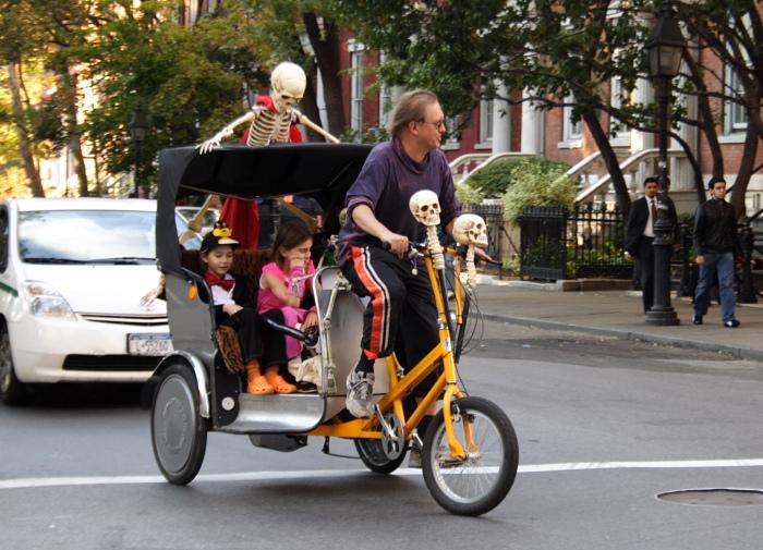 A spooktastic Halloween ride