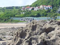 Langland Bay (simonswansea66) Tags: beach swansea wales bay rocks stock gower mumbles beachhuts langland theperfectphotographer