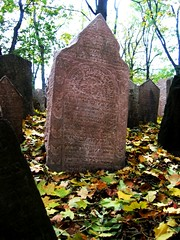 Old Jewish Headstone, Prague