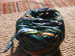 Blue Moon Fiber Arts, Undertoe Ribbon Yarn