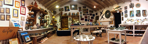 Ceramics studio in Aragorn's Studio, Trellis Bay, The British Virgin Islands