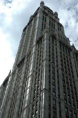 Woolworth Building Tower by Aaron G Stock, on Flickr