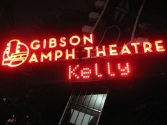 We enjoyed the Kelly Clarkson show at Universal's Gibson Amphitheatre. (11/18/2007)