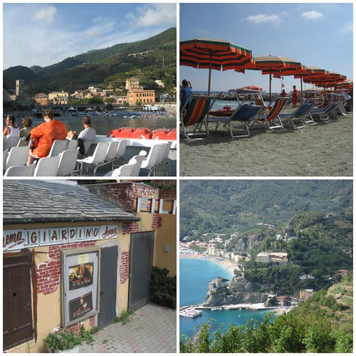 Monterosso Al Mare is the largest of the 5 towns. It has cars.