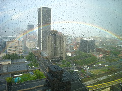 Montreal Rainbow So Close - Feels So Refreshing (Anirudh Koul) Tags: canada west color colour de la yahoo office rainbow quebec montreal hilton colourful quest rue gauchetiere le1000