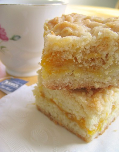 Shortbread Bars with Mango Jam Filling