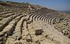 La graderia del teatre grec-amfiteatre romà, Cirene