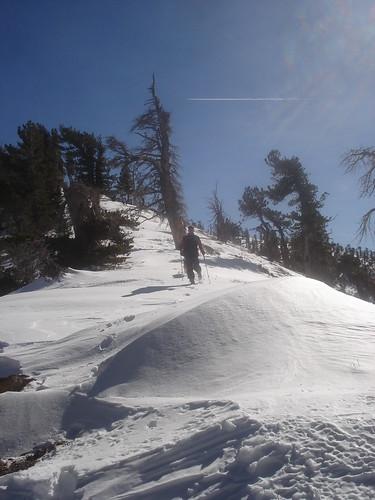 Ridge leading from Baden-Powell to Mount Burnham