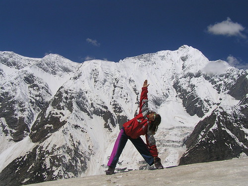Yoga in Himalaya. por Eric Lon.