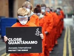 Campaña de Amnistía Internacional contra Guantánamo