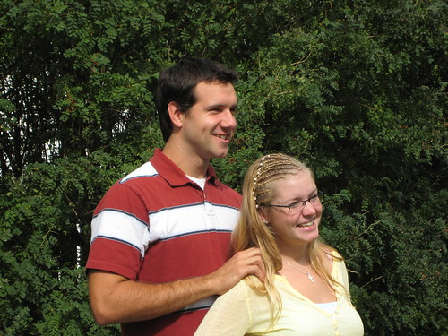 Nate and Johanna