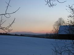 1/3/08 (Bliss County) Tags: winter snow sunrise dawn vermont corinth moosilauke