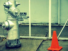 (jeneyepher) Tags: orange hydrant jones cone firehydrant 2008yip