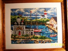 Waterfront Needlepoint, (littledynamite8) Tags: waterfront needlepoint