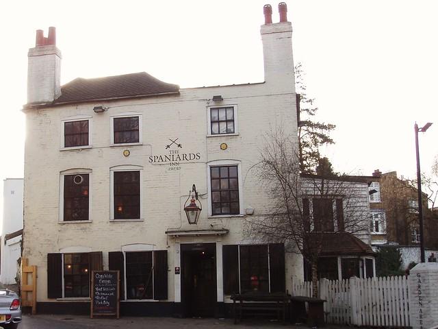 The Spaniard's Inn, Hampstead, NW3