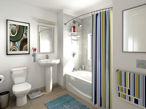 West End Interior Design - Bathroom Decoration