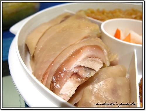 福華08年菜 精美三拼汁醉雞