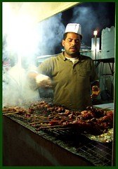 Maker of Mishkaks (Sombrero_Nuevo) Tags: food festival fun delicious oman 2008 soe muscat skewers kabab superbmasterpiece mishkak dazzlingshots roseawards