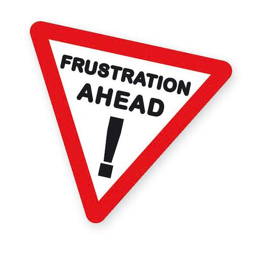 Frustration Logo