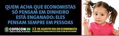 Campanha pela valorização dos economistas