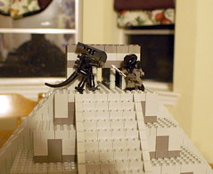 AvP (SavaTheAggie) Tags: temple lego aliens mayan predator chichen versus itza xenomorph