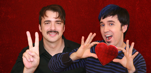 Marc and Fausto wish you a fabulous Valentine's Day!