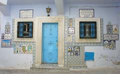 Frontside of the Baghdad House (olga_rashida) Tags: tunisia madina hammamet altstadt oldcity tunesien singintheblues 5photosaday excapture goldstaraward