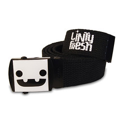 Smile! Canvas Belt