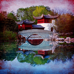 "The ""Stone Boat"" Reflection III HDR* + Texture (David Giral 