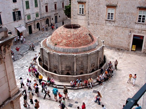 Onofrio's Great Fountain, Dubrovnik