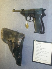 Walther P38 and Holster (robotech_master_2000) Tags: museum germany worldwarii german transformers pistol automatic handgun megatron lupiniii chrismeadows jmdavis