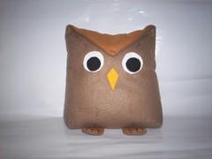 Coruja (isabiondoartes) Tags: bonecas artesanato feltro patchwork bolsas cozinha galinhas bonecasdepano