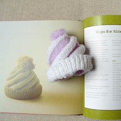 Swirled Ski Cap, with book ...