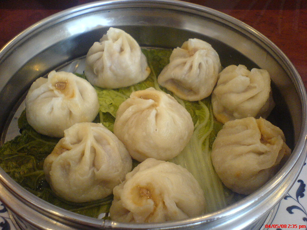 Steamed Pork Soup Dumplings - Xiao Long Bao