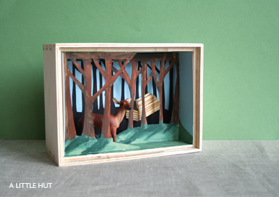 pm how to make a diorama